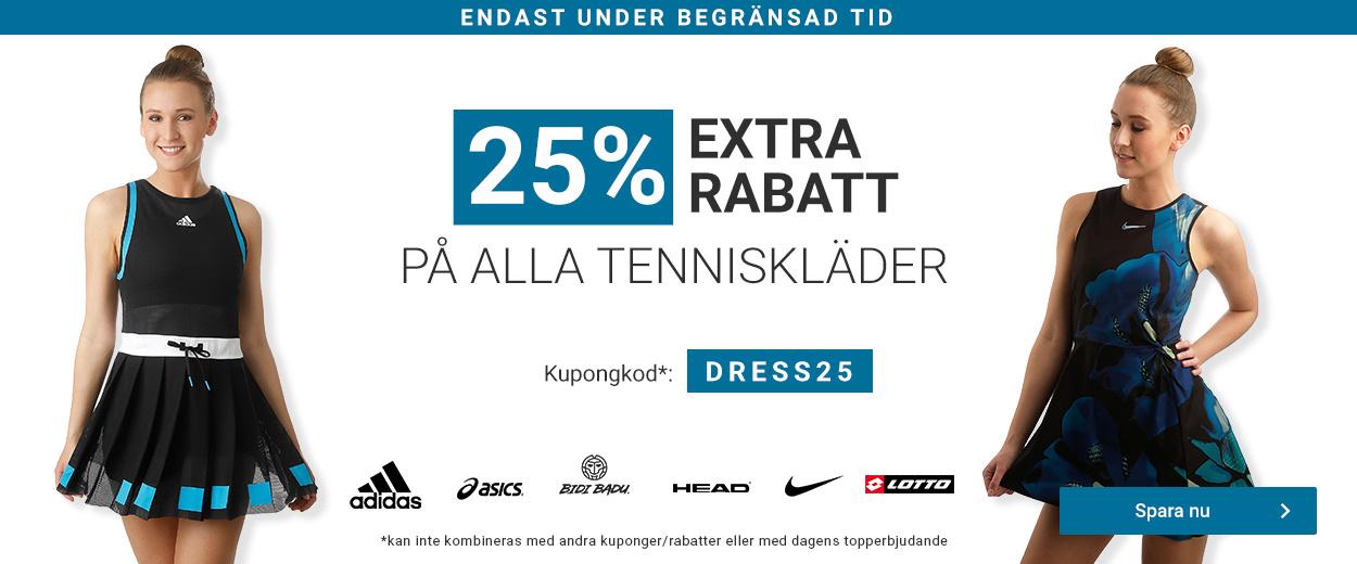 Tenniskläder -25%