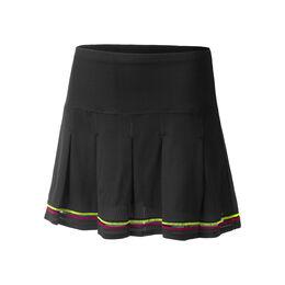 Long Micro Tuck Pleat Skirt Women