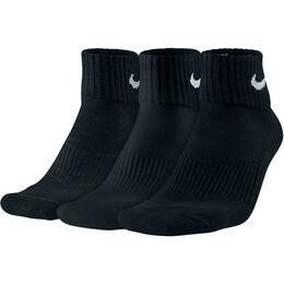 Performance Cushion Quarter Training Sock 3-Pack