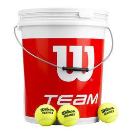 Team W Trainer 72 Tennisbälle im Eimer