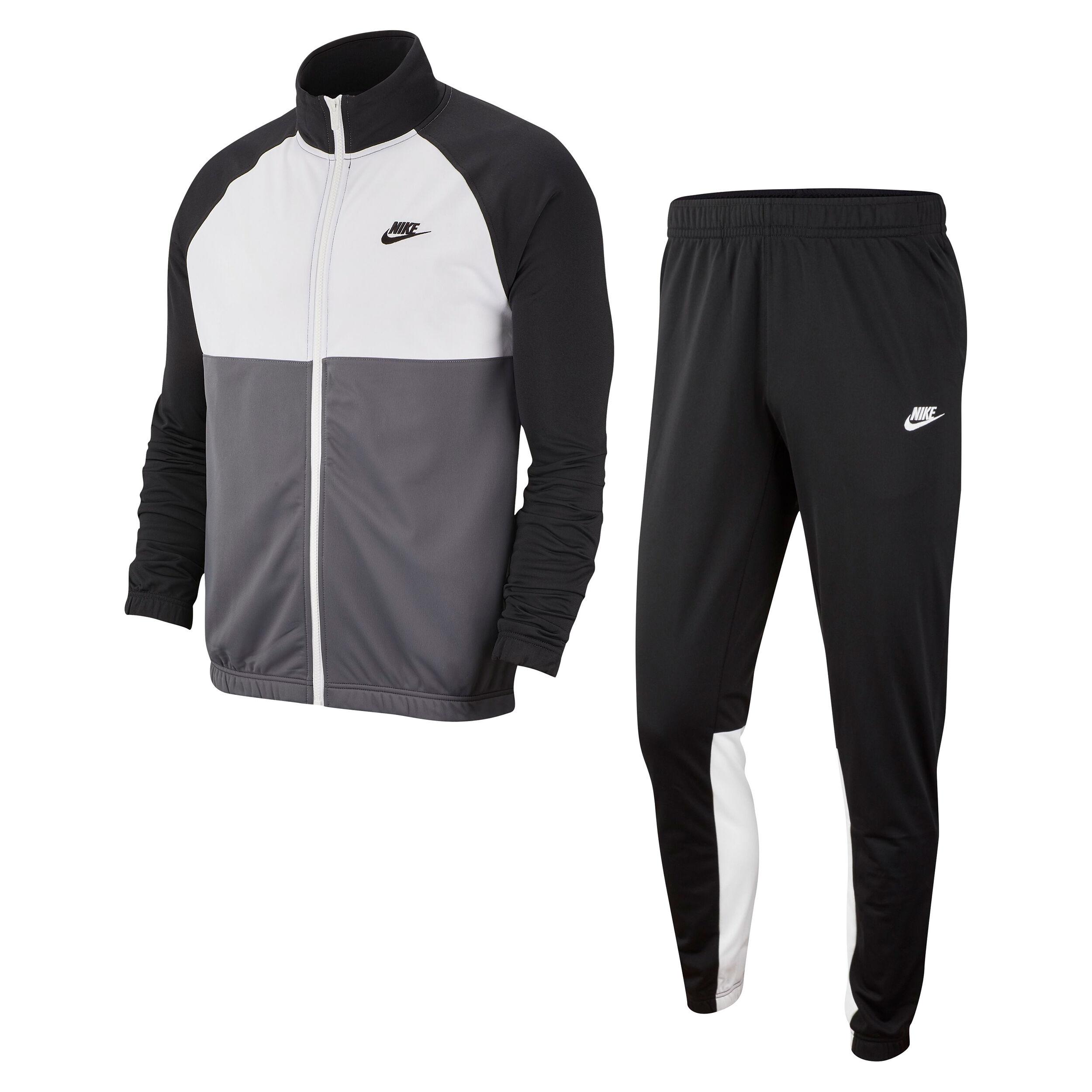 Nike Sportswear Träningsoverall Herrar Svart, Mörkgrå köp