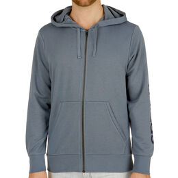 Essential Linear Full-Zip Hood French Terry Men