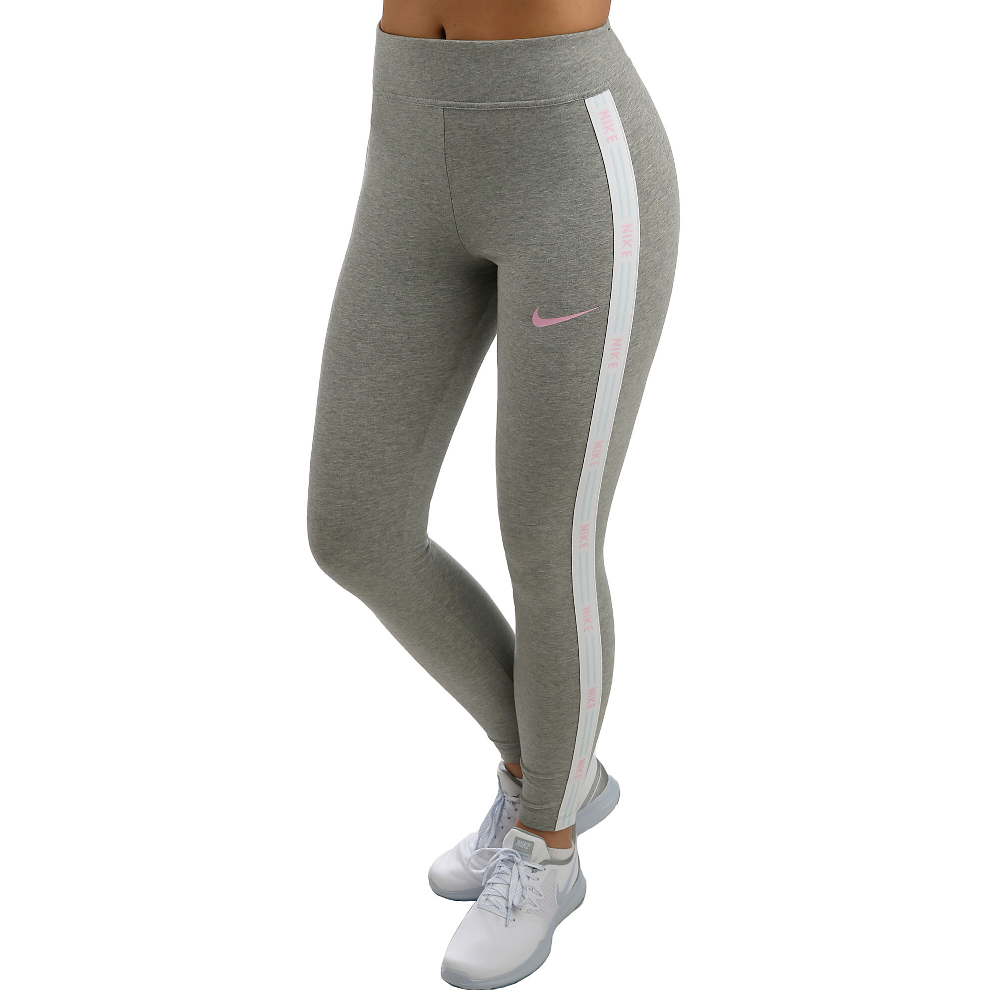 d90ec4d902ff Nike Sportswear Tights Damer - Grå, Rosa köp online | Tennis-Point