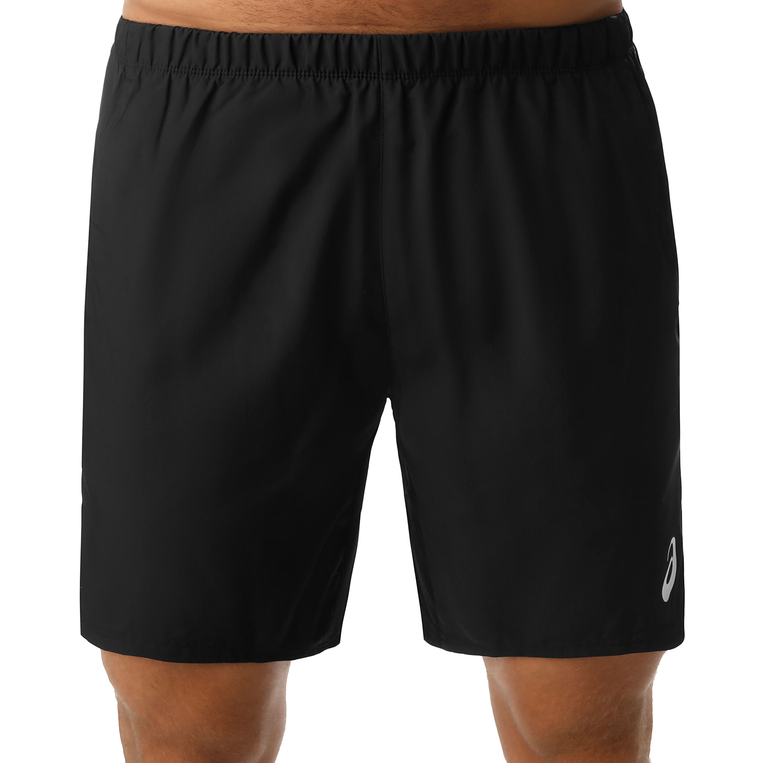 Asics 7in Shorts Herrar Vit, Svart köp online | Tennis Point