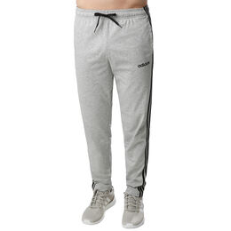 Essentials 3-Stripes Open Hem Single Jersey Tapered Pant Men