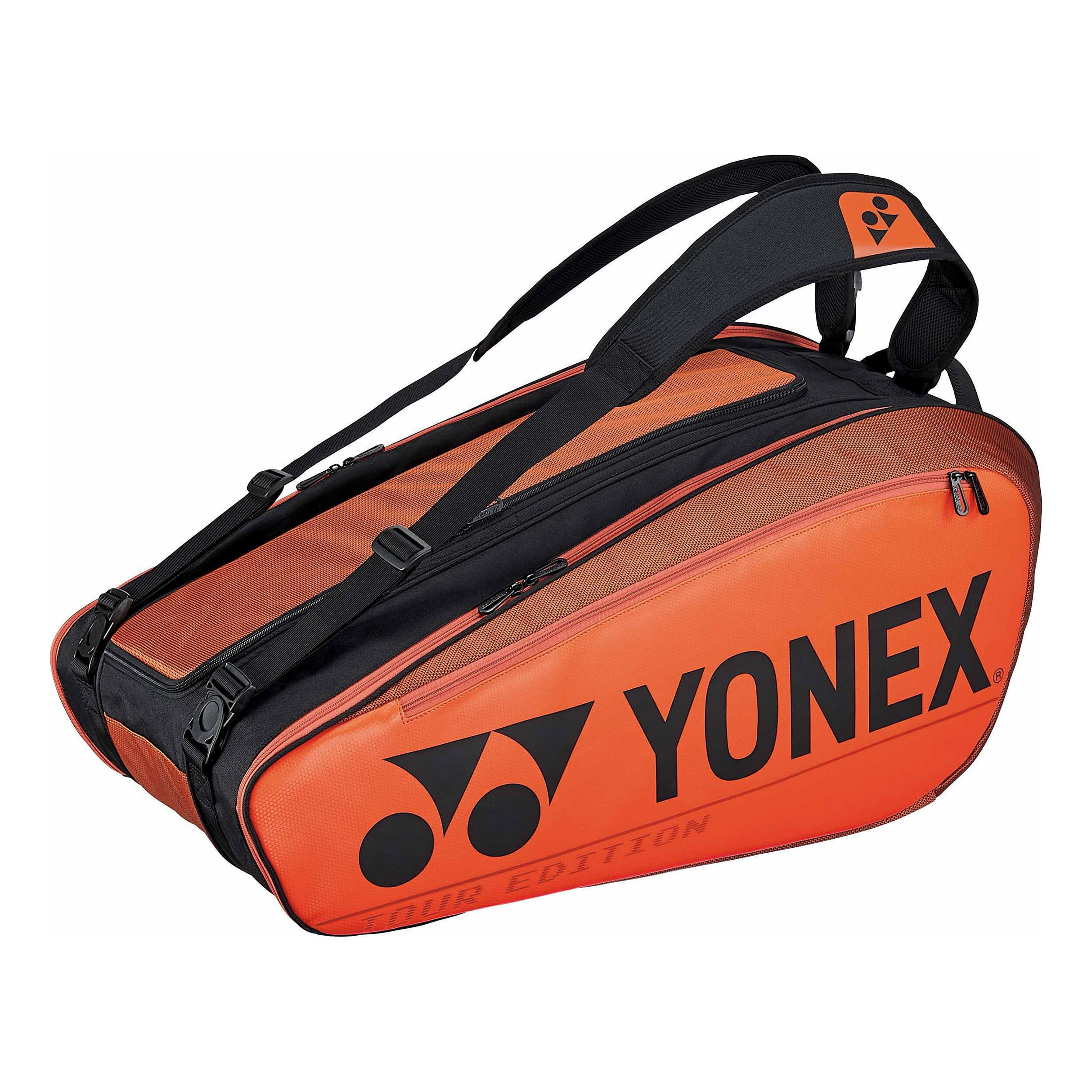 Yonex Pro Racket Bag Racketväska 9 Orange, Svart