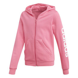 Essenitals Linear Full-Zip Hoodie Girls