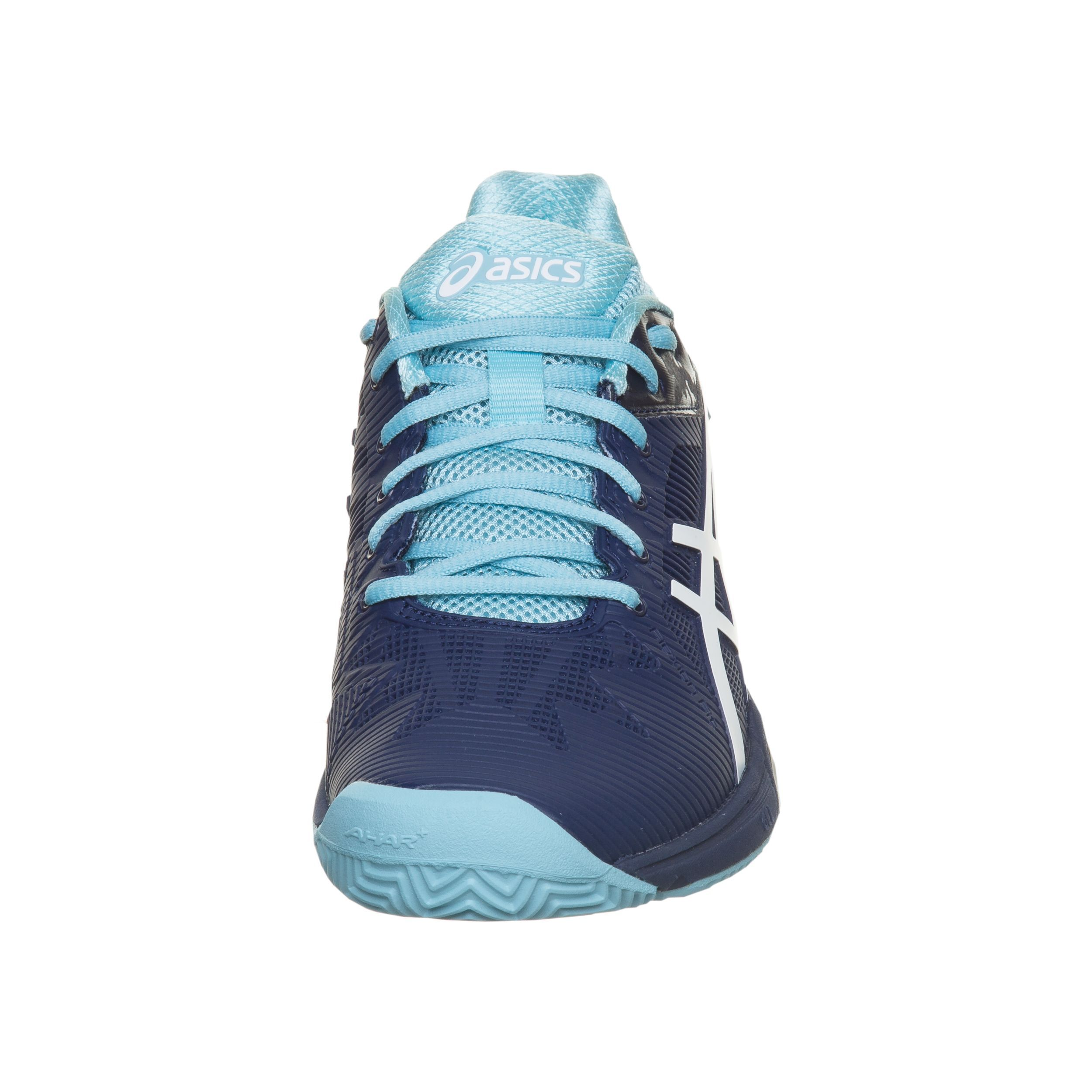 Asics Gel Solution Speed 3 Clay Sko För Grus Damer Mörkblå, Ljusblå