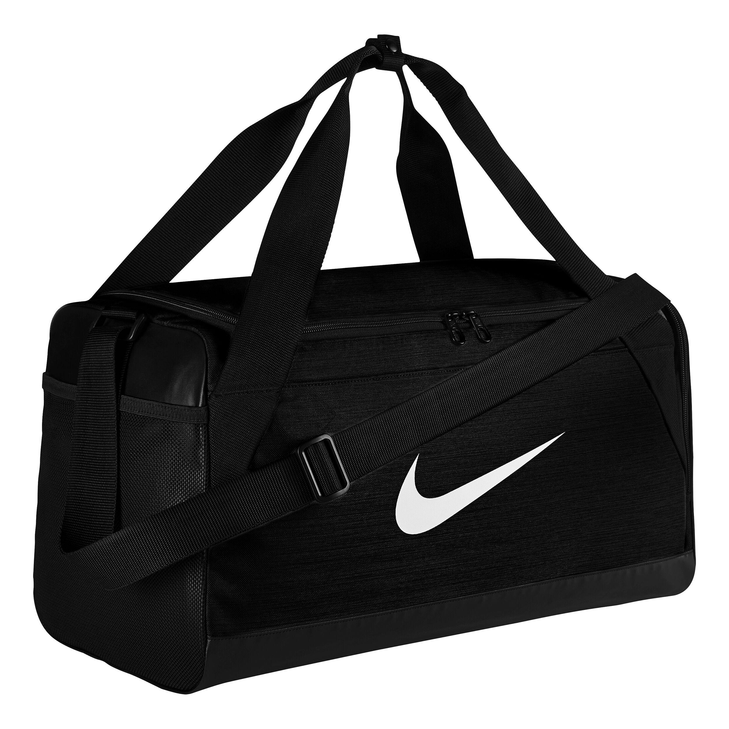 Nike Brasilia Duffel Sportväska Liten Svart, Svart